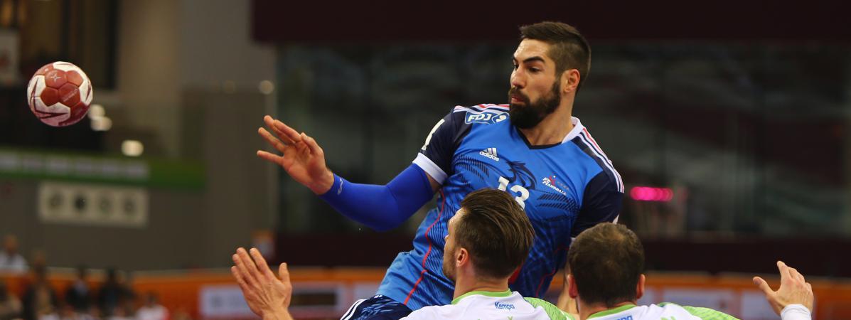 Mondial de handball la france domine la slov nie 32 23 et file en demi finales - Qatar coupe du monde handball ...