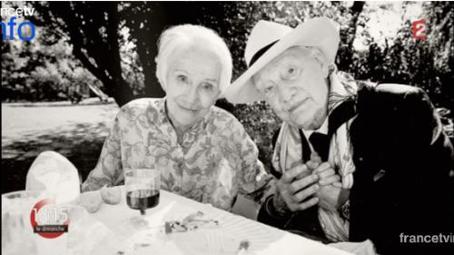 """VIDEO. Gisèle Casadesus : """"Un amour unique pendant soixante-douze ans"""""""
