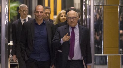video-le-ministre-des-finances-grec-a-rencontre-michel-sapin-a-bercy