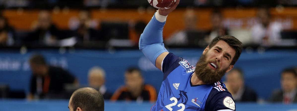 Mondial de handball la france qualifi e pour les quarts de finale apr s sa victoire contre l - Qatar coupe du monde handball ...