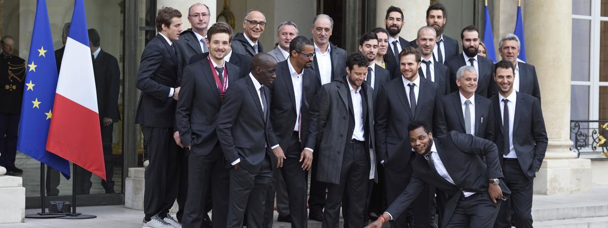 Les handballeurs re us l 39 elys e on est un peu la - Diffusion coupe du monde de handball 2015 ...