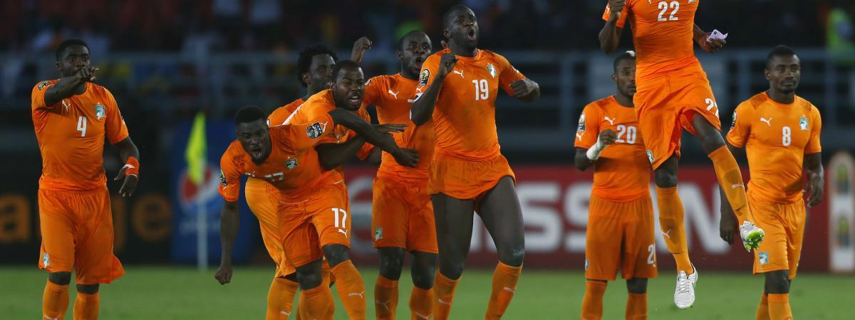 Foot la c te d 39 ivoire remporte aux tirs au but la coupe - Prochaine coupe d afrique des nations ...