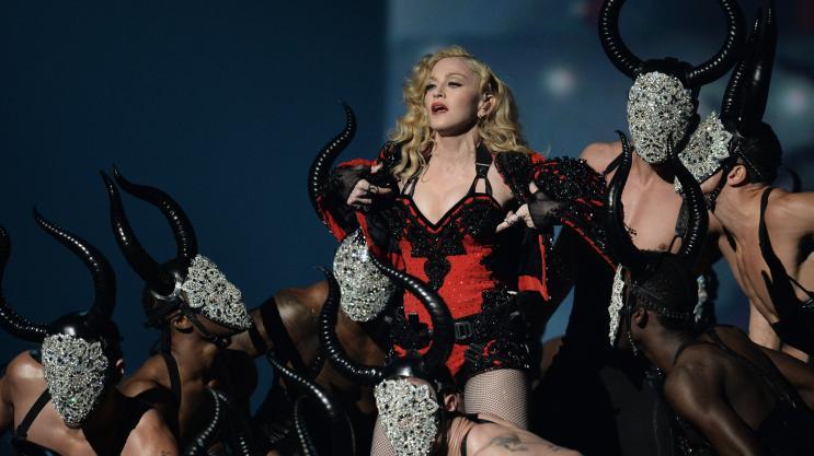 Madonna compare le