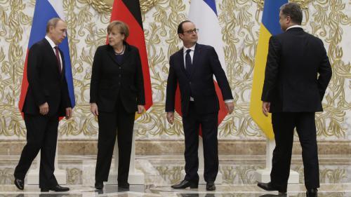 Ukraine : l'Elysée parle de 'progrès', mais 'la situation doit être améliorée'