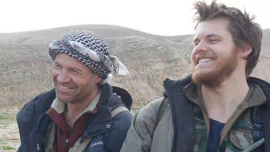 Cette photo de l'Australien Ashley Johnston aurait été prise le 20 février 2015, cinq jours avant sa mort, selon les Unités de protection du peuple (YPG) kurde.