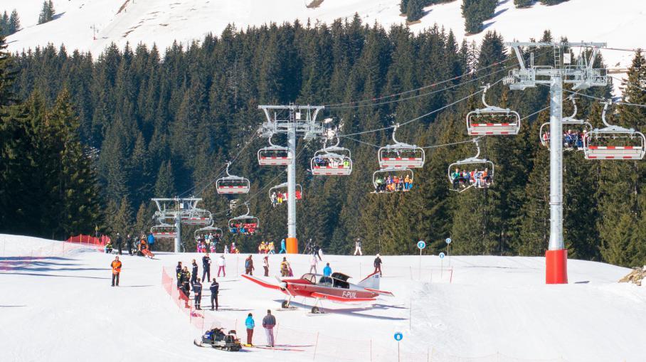 Une skieuse gri vement bless e par un avion de tourisme avoriaz - Avoriaz office de tourisme ...