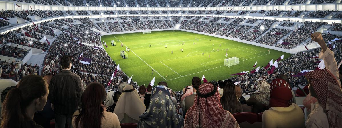 Comprendre les pol miques sur la coupe du monde 2022 au qatar en cinq graphiques - Stade coupe du monde 2022 ...