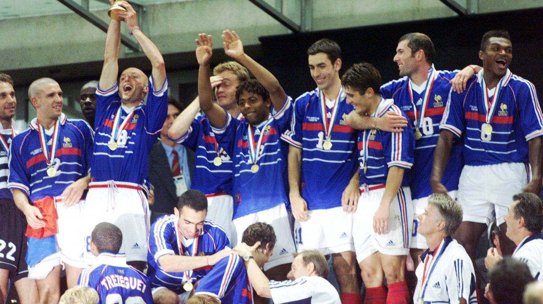 France br sil que sont devenus les champions de 98 - Coupe du monde 1994 equipe de france ...