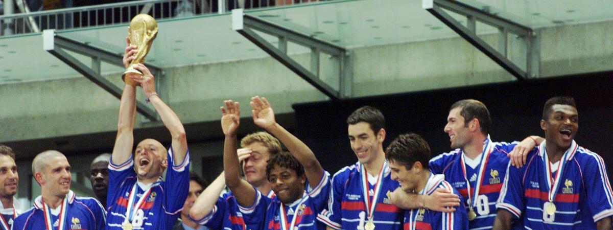 France br sil que sont devenus les champions de 98 - Coupe du monde 1998 tunisie ...