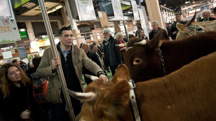 visite francois fillon salon de l'agriculture