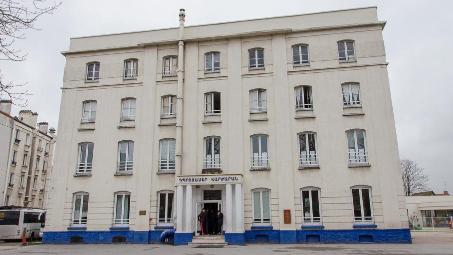 L'école franco-arménienne Tebrotzassère du Raincy (Seine-Saint-Denis), le 3 avril 2015.