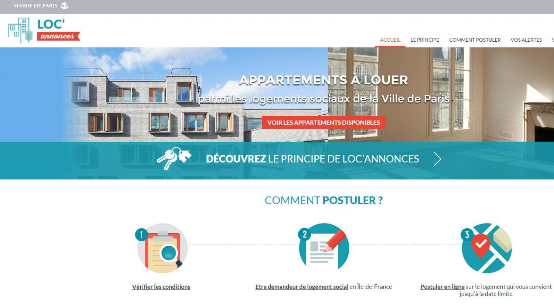 paris lance un site d 39 annonces pour des logements sociaux. Black Bedroom Furniture Sets. Home Design Ideas