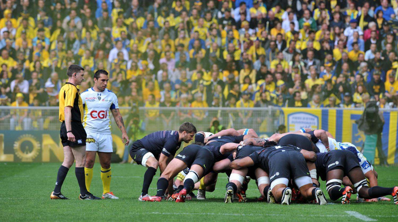 Rugby clermont en finale de la coupe d 39 europe apr s avoir battu les saracens 13 9 - Final coupe d europe 2008 ...