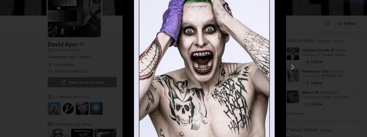 Gros Tatouages Petite Frayeur Pourquoi Le Joker De Jared Leto