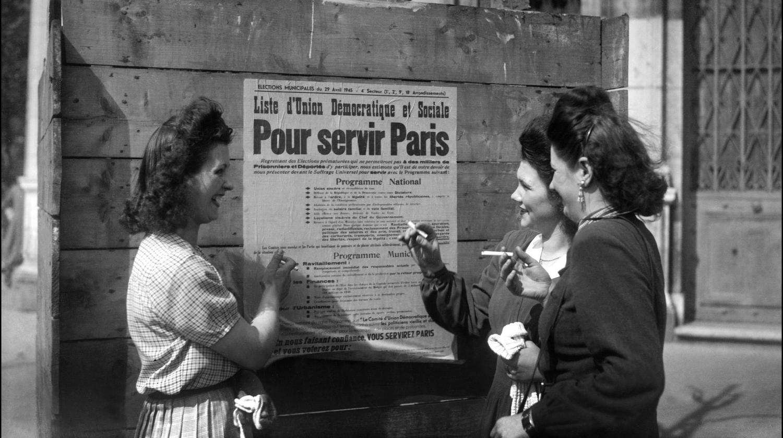 Qui a donné le droit de vote aux femmes en france