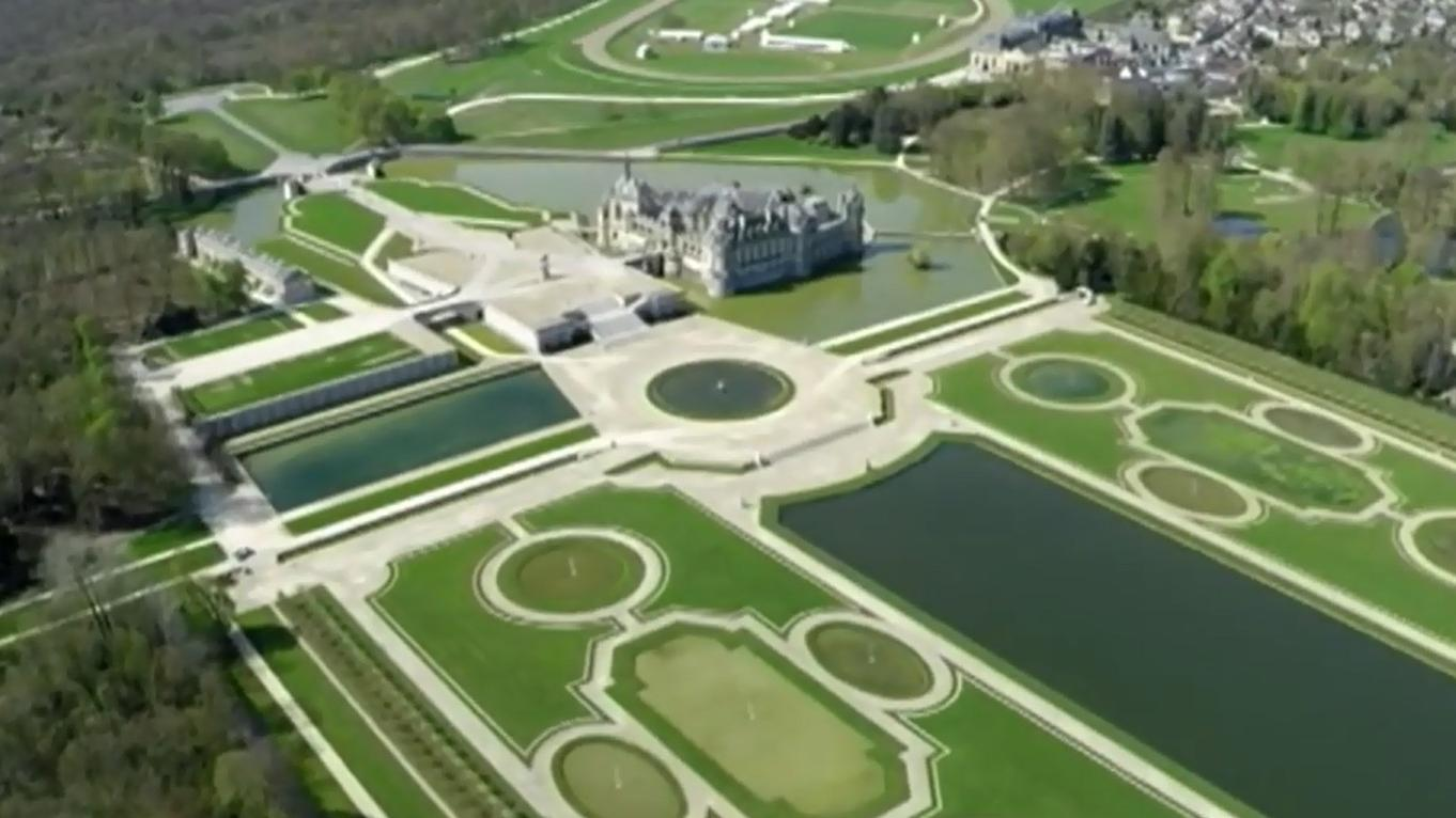 les jardins du ch teau de chantilly l 39 un des joyaux du patrimoine fran ais. Black Bedroom Furniture Sets. Home Design Ideas