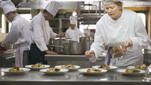 Gastronomie : le Grand Palais se remplit de restaurants éphémères