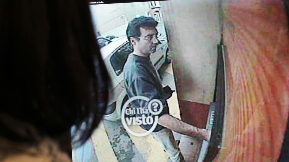 Dernière photo de Xavier Dupont de Ligonnès prise par une caméra de surveillance à un distributeur automatique àRoquebrune-sur-Argens (Var), le 14 avril 2011.