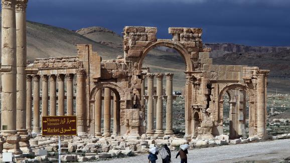 La cité antique de Palmyre (Syrie), le 14 mai 2014.