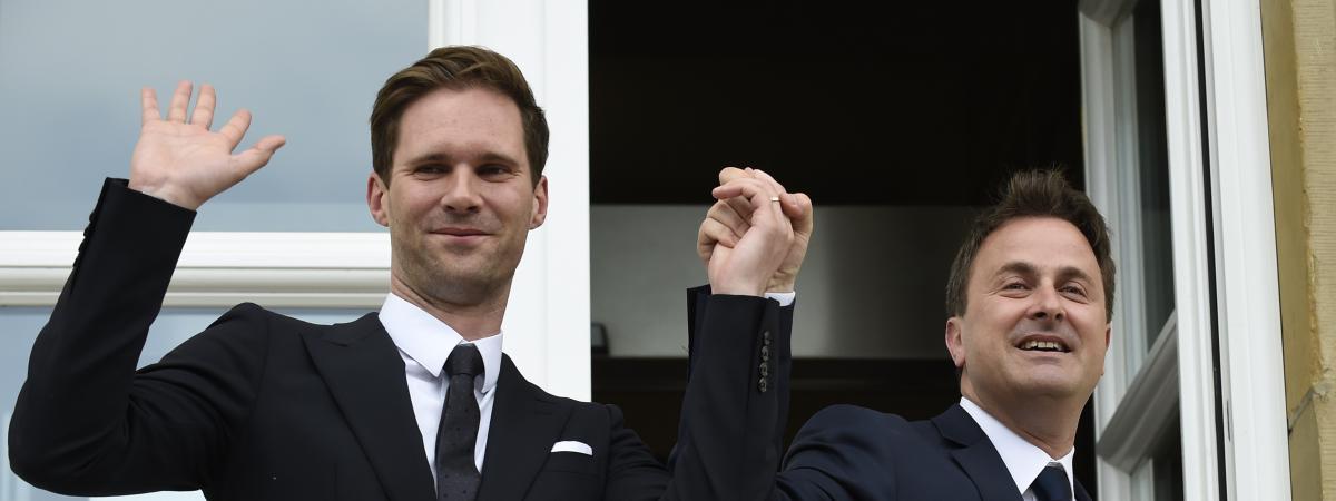 le premier ministre du luxembourg a pous son compagnon une premi re dans l 39 ue. Black Bedroom Furniture Sets. Home Design Ideas