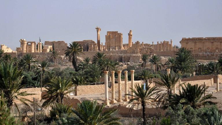 Une vue de Palmyre (Syrie), le 18 mai 2015.