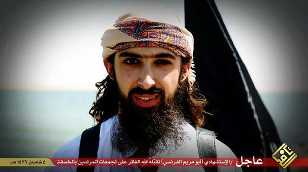 Une photo non datée du groupe Etat islamique, qui affirme qu'il s'agit deAbou Maryam al-Firansi, un des deux Français auteursd'attentats suicide en Irak.