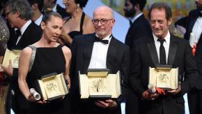 """VIDEO. Cannes : Jacques Audiard sacré, Vincent Lindon """"fou de bonheur"""""""