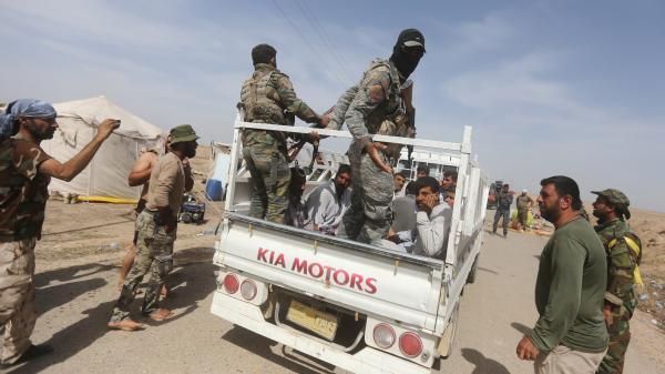 video irak la contre offensive de l armee pour reprendre ramadi risque de duree