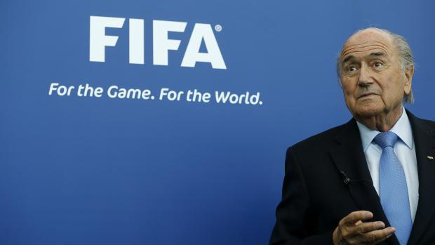Sepp Blatter à Zürich (Suisse), le 3 septembre 2013.