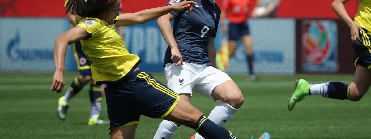 Coupe du monde de foot f minin la france battue par la colombie 2 0 en poules - Coupe du monde de foot feminin 2015 ...