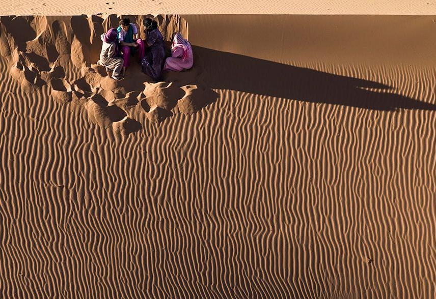 Algérie vue du ciel», documentaire très attendu au sol