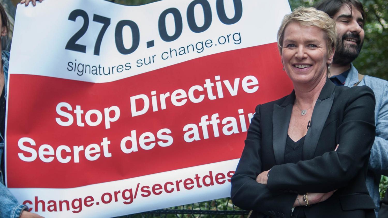 """Directive sur le secret des affaires : """"Ce texte va freiner le travail d'investigation"""", selon Elise Lucet"""