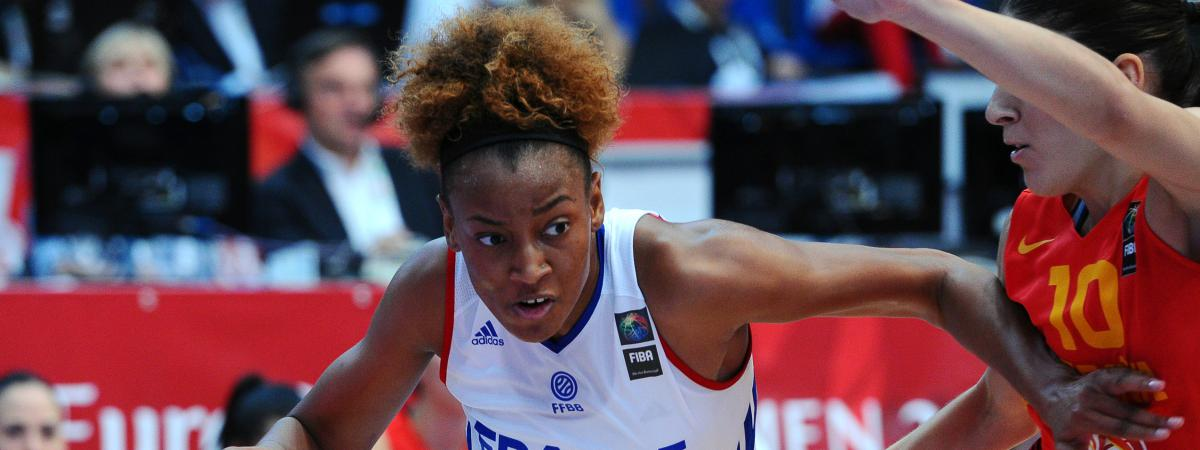 Championnat d 39 europe de basket f minin la france bat l - Finale coupe de france basket feminin ...