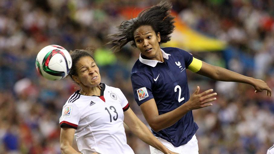 Foot les fran aises limin es par les allemandes en - Quart de finale coupe du monde 2015 ...