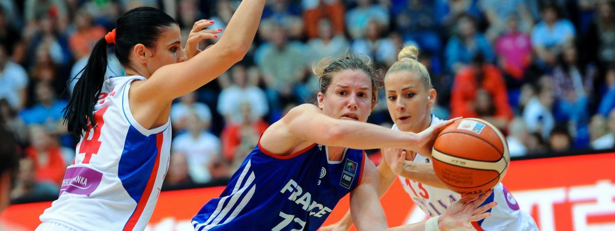 Les bleues battues en finale de l 39 euro de basket f minin - Finale coupe de france basket feminin ...
