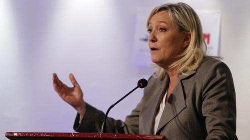 Elections régionales : Marine Le Pen candidate dans la région Nord-Pas-de-Calais/Picardie