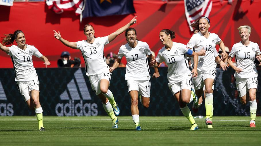 Mondial de foot f minin les am ricaines sacr es championnes du monde - Coupe du monde de foot feminin ...