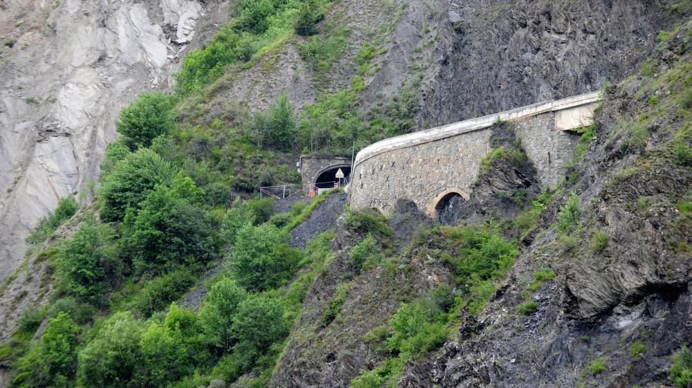 Le tunnel du Chambon (Isère), le 12 juin 2015.