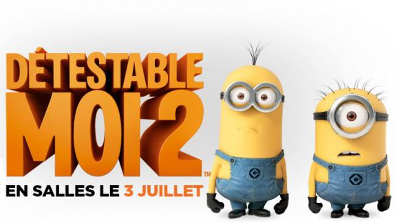 """Titre québécois de """"Moi, moche et méchant"""", sorti en salles en 2013."""