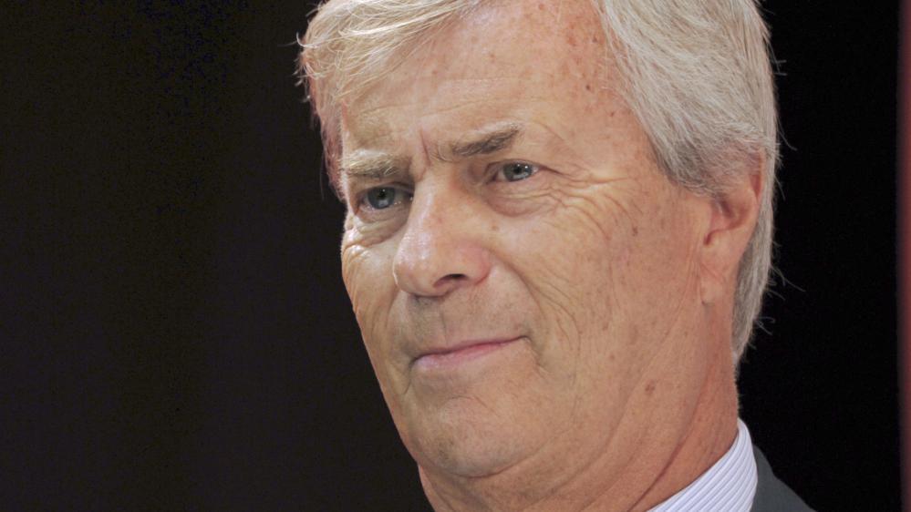 Vincent Bolloré,patron de Vivendi, à Paris, le 9 septembre 2014.