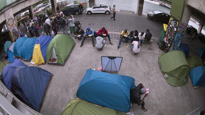 CARTE. Où sont les camps de migrants à Paris ?
