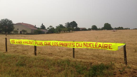 Sur une route près de Bure (Meuse), le 4 août 2015.