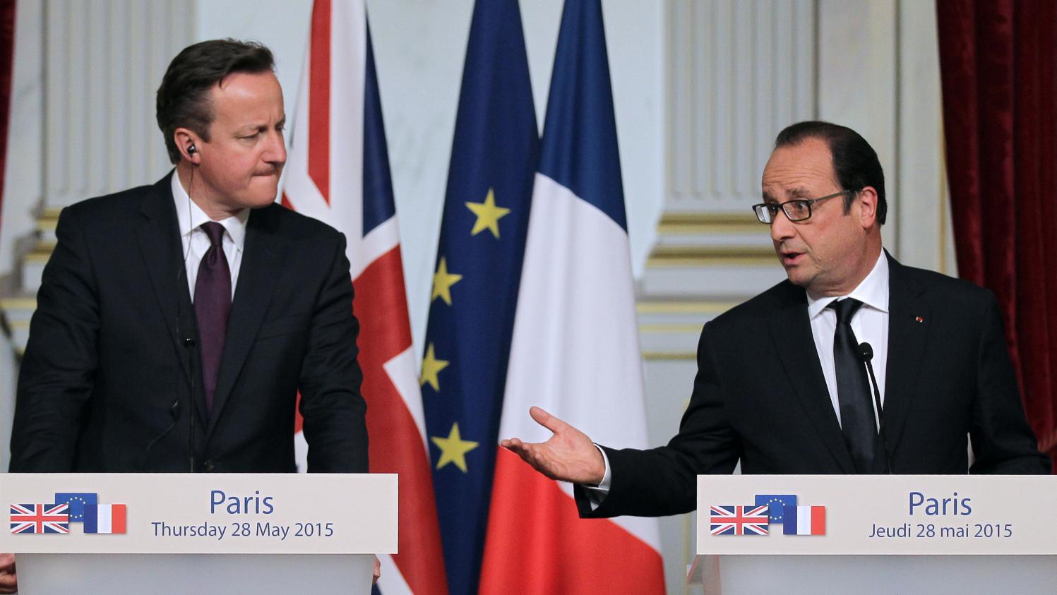Entre la crise migratoire et le brexit un sommet franco for Chambre de commerce franco britannique londres