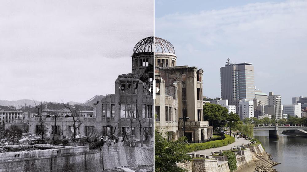 Les bombardements atomiques d'Hiroshima et Nagazaki 6675563