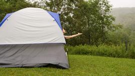 Droit : les règles du camping sauvage