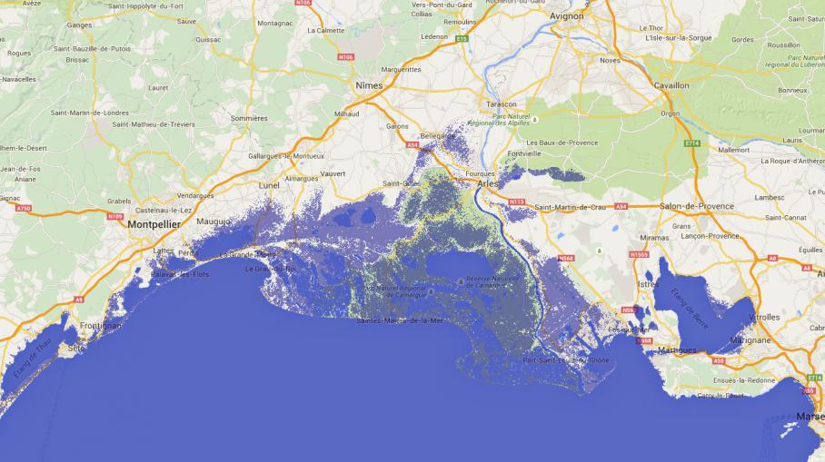 CARTES. Les côtes de la France les plus menacées par la hausse du niveau des mers