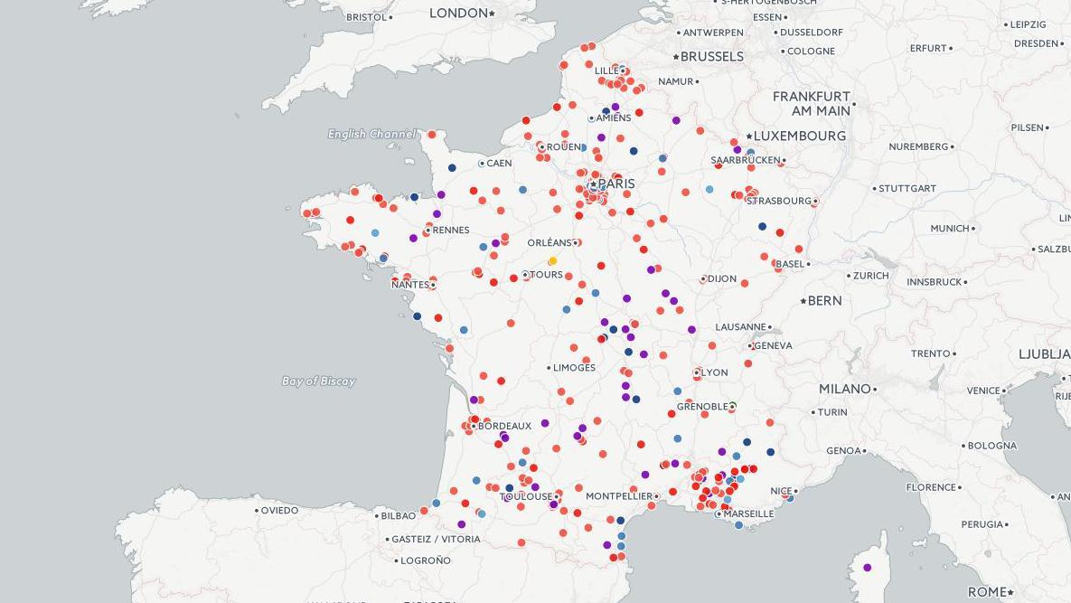 Villes De France Accueillant Des Migrants