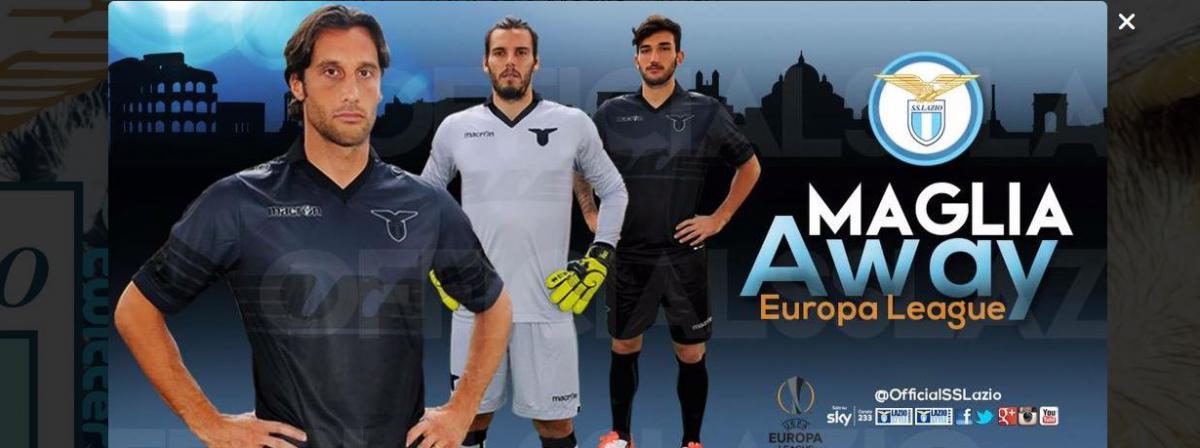 tenue de foot Lazio noir
