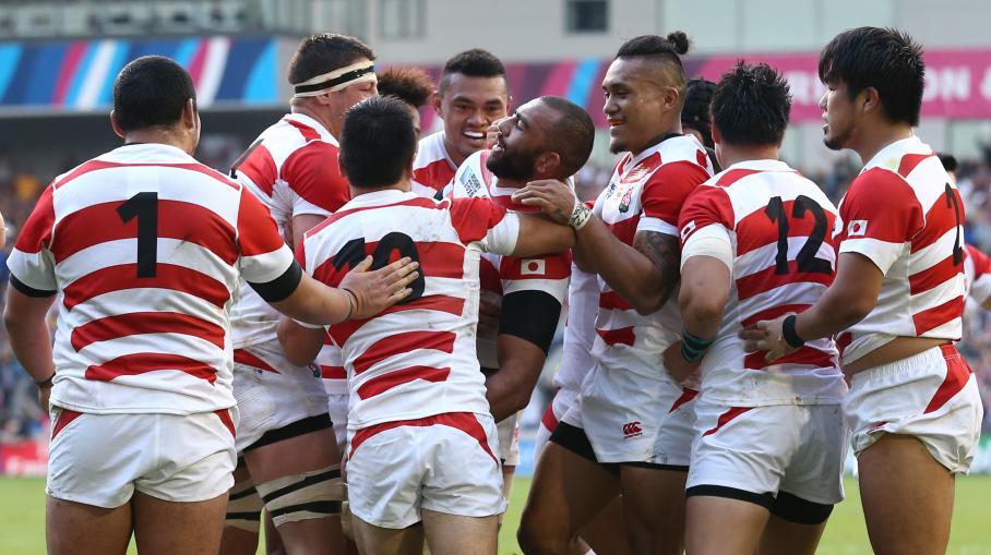 Coupe du monde de rugby le japon remporte une improbable - Coupe du monde rugby afrique du sud ...