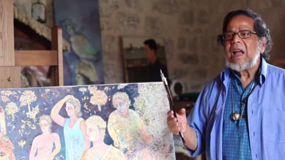 Decouvrez Balade Avec Sakti Un Documentaire Inedit Sur Le Peintre Indien Sakti Burman